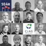 10-års fødselsdag for CJ A/S